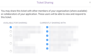 Supportticketshare