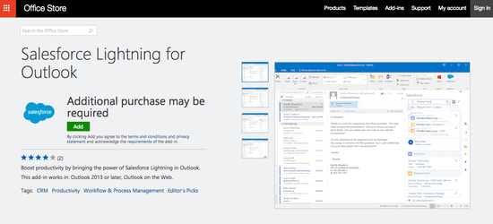 Office_store_salesforce_outlook